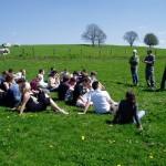 Une journée avec les étudiants sur les prairies